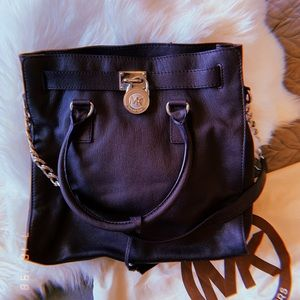 Michael Kors leather handbag.